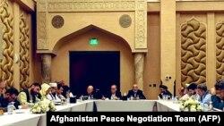 نشست گروه تماس تیمهای مذاکره کننده افغانستان و طالبان در دوحۀ قطر