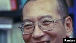 Liu Xiaobo is serving 11 years in jail