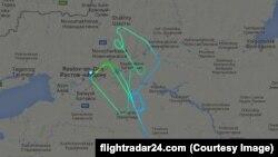 Avion je nekoliko puta kružio pre nego je pilot odlučio da prizemlji avion