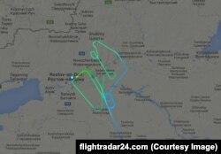 Літак рейсу FZ981 близько двох годин перед катастрофою кружляв над аеропортом Ростова-на-Дону, трагедія сталася під час третього заходу на посадку