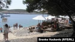 Turisti, Hrvatska, fotoarhiv