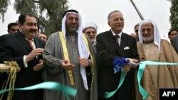 أمين عام منظمة التعاون الإسلامي أكمل الدين إحسان أوغلو يفتتح مكتب المنظمة في بغداد.