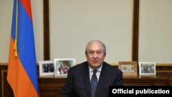 Armenian President Armen Sarkissian (archive photo)