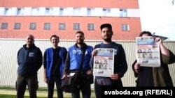 Журналісты пасьля першых «сутак» на Акрэсьціна, 4 верасьня 2020