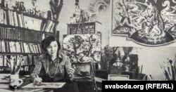 У майстэрні. 1982 г.