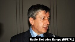 Заменик-претседателот на македонската Влада, Муса Џафери.