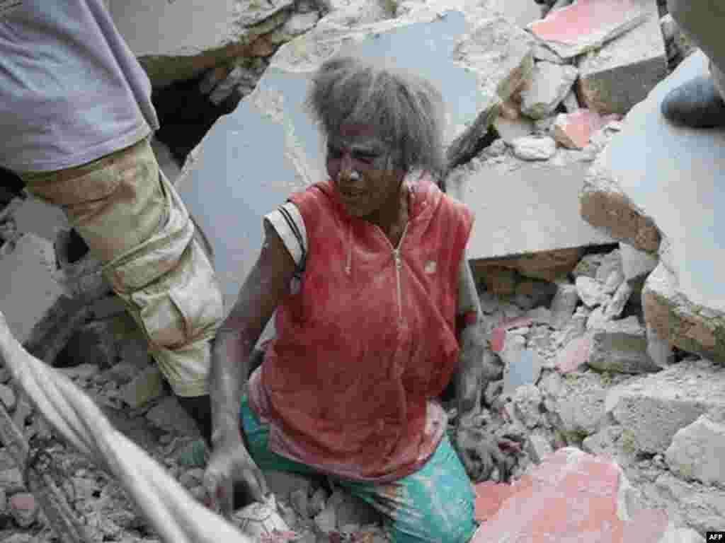 Сильнейшее за всю историю Карибского региона землетрясение произошло в Республике Гаити