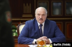 """Young people in Belarus """"want to learn about their culture and their history and their relationship to other people. And under [strongman ruler Alyaksandr] Lukashenka, they don't get [to do] it,"""" Davies says."""