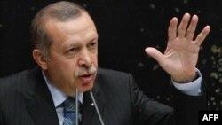 Թուրքիայի վարչապետ Ռեջեփ Էրդողանը խոսում է «Արդարութ