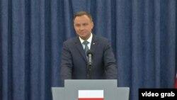 Полскиот претседател Анджеј Дуда