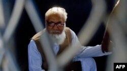 "Bangladeşiň ""Yslam partiýasynyň"" lideri Motiur Rahman Nizami."