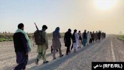 Aктивисти од авганистанското Народното движење за мир