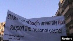 Хомстагы протест чарасыннан бер күренеш