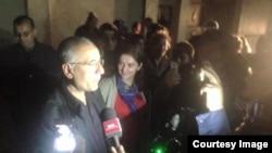 Інтіґам Алієв у залі суду в Баку після винесення рішення, 28 березня 2016 року