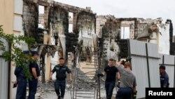 Фоторепортаж: Пожежа на Київщині забрала життя 17 людей