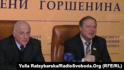Дніпропетровські ректори Олександр Величко і Олександр Пшинько