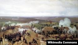 Rus-türk müharibəsi, 1877, rəssam Nikolay Orenburqski