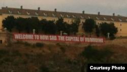 Transparent na tvrđavi koji je izazvao reakcije u Srbiji