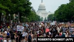 Protesta në Uashington më 6 qershor.