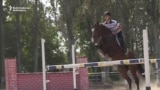 Young Kyrgyz Equestrians Clear Hurdles In Expensive Sport