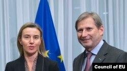 Mogerini i Han: Očekujemo brzo formiranje vlade