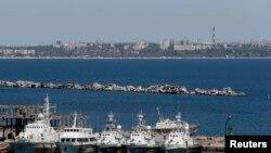 Украинское побережье Черного моря. Одесса, 7 мая 2014 года. Иллюстративное фото.