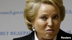 Cпікера Ради Федерації Росії Валентина Матвієнко