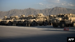 File photo of the Bagram airbase near Kabul.