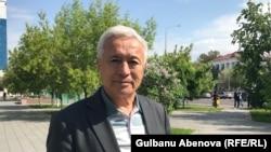 Эбенгаппас Ахметов родился в послевоенном Акмолинске. Астана, 14 июня 2018 года.