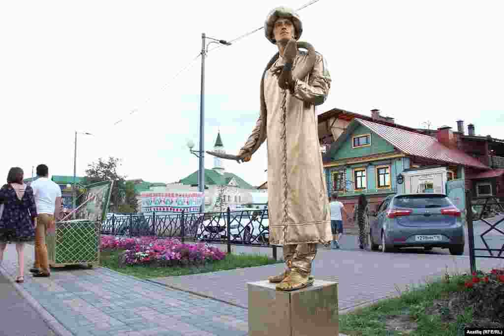 Елан тоткан татар егете