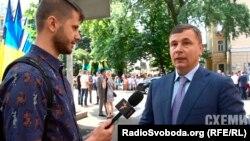 Начальник Управління державної охорони Валерій Гелетей