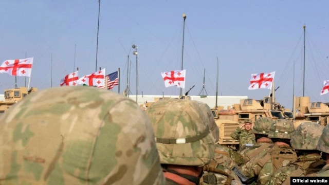 Georgia has around 750 troops serving alongside U.S. forces in Helmand Province, Afghanistan.