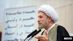 Lotfollah Dezhkam, Shiraz Friday prayer Imam. FILE PHOTO