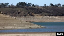 Симферопольское водохранилище, архивное фото