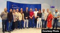 Peter Sorensen sa stranim novinarima u Sarajevu