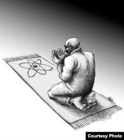 Одна из работ Мана Неестани.