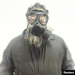 اعتراض هنرمند چینی، آی ویوی، به آلودگی هوا در کشورش