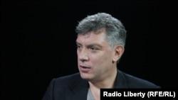 Борис Немцов, российский оппозиционный политик.