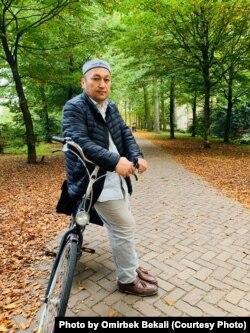 Омирбек Бекалы в Роттердаме. Фото — из личного архива.