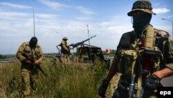 Проросійські бойовики на Донбасі, липень 2014 року