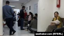 Поликлиника, Туркменистан (архивное фото)
