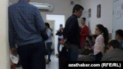 Ашхабадская поликлиника (иллюстративное фото)