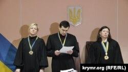 Судьи в деле Василия Ганыша
