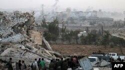 Урандыга айланган Алеппо шаары