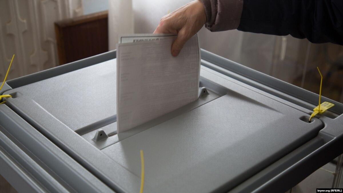 Промежуточная явка на российских «выборах» в анексованому Крыму уменьшилось на 11% по сравнению с 2014-м