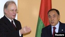 Сяргей Мартынаў і Канат Саўдабаеў