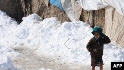Кобул ташқарисидаги Чархи Қамбар қочқинлар лагери.