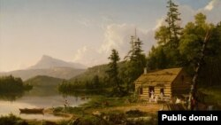 Томас Коўл, «Дом у лесе» (1847)