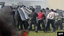 Belarus polisi treninqlərdə