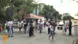 В Алматы без света и воды